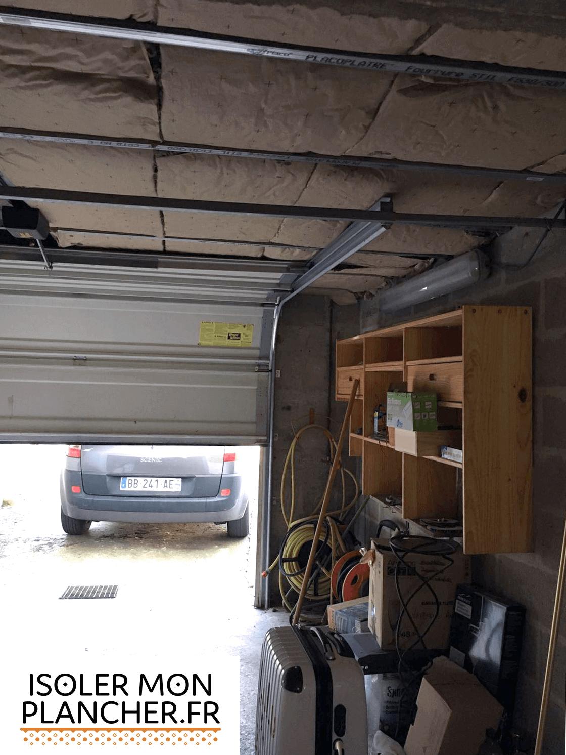 isolez gratuitement le plafond de votre garage. Black Bedroom Furniture Sets. Home Design Ideas